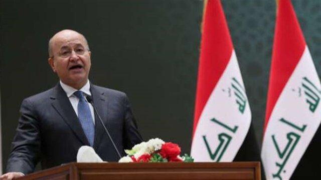 دستور برهم صالح برای ادامه تحقیقات درباره خشونت ها در تظاهرات عراق