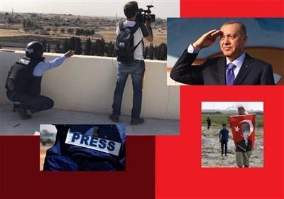 کارنامه رسانه های ترکیه در عملیات شرق فرات