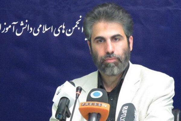 پیغام قدردانی دبیرکل اتحادیه انجمن اسلامی دانش آموزان از حاجی میرزائی