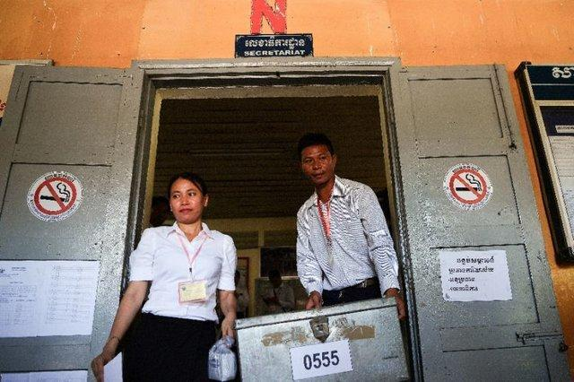 برگزاری انتخابات کامبوج بدون حضور اپوزیسیون