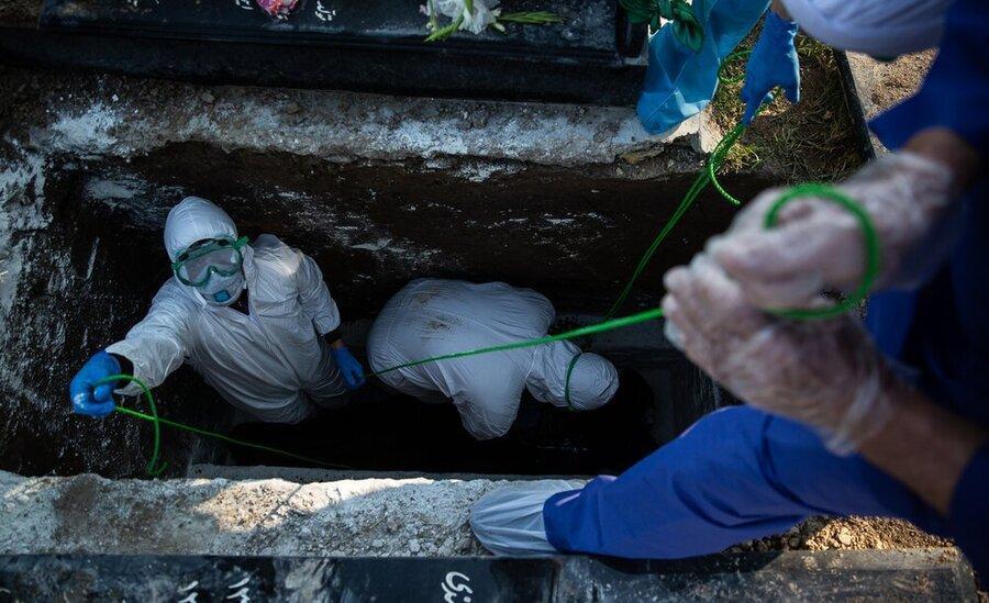 برآورد خسارت انسانی کرونا در ایران تا انتها بهار ، آمار مرگ و میر در 3 سناریوی وزارت بهداشت