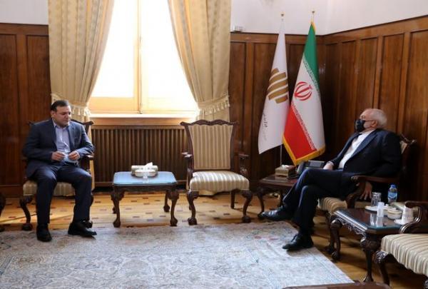 ملاقات و گفت وگوی عزیزی خادم با محمد جواد ظریف! خبرنگاران