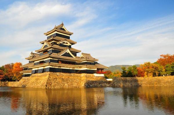 قلعه های معروف و دیدنی ژاپن