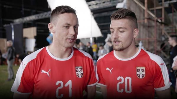 شکست سنگین میزبان جام جهانی فوتبال مقابل صرب ها